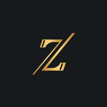 Elegant Z Letter, Double 7 Number Logo Icon