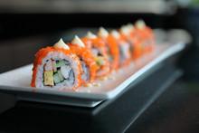 California Roll Sushi , Rice R...