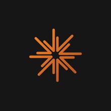 Starburst, Firework Logo Icon