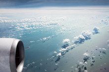 Clouds Over The South China Sea, From The Air
