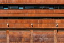 Building With Rusty Facade