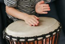 Young Drummer Hands