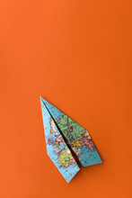 Paper Plane Made From Vintage ...
