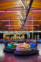 Amusement Park Bumper Cars