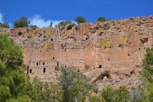 Ancient Cliff Dwellings Of The American Southwest