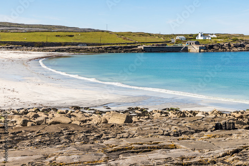 Photo Old pier in Kilmurvey Beach in Inishmore