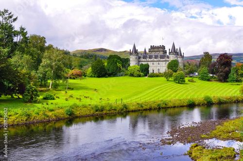 Inveraray Castle, Argyll (Scotland) Canvas Print