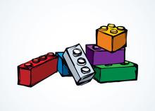 Lego. Vector Drawing