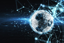 Soccer Ball With Internet Netw...
