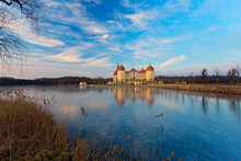 Moritzburg Castle. A Fairy-tal...