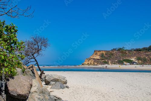 Fototapeta The Beach North of Del Mar obraz na płótnie