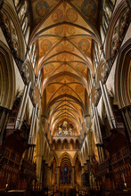 Vaulted Ceiling At The Choir A...