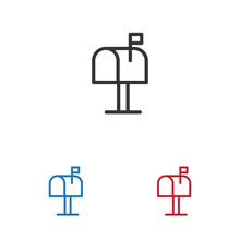 Mailbox Vector Icon