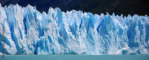 Poster Fleur The Perito Moreno Glacier is a glacier located in the Los Glaciares National Park in the Santa Cruz province, Argentina. It is one of the most important tourist attractions in the Argentine Patagonia