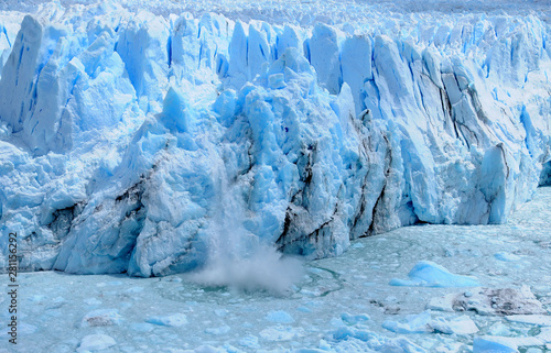 Fotobehang Antarctica The Perito Moreno Glacier is a glacier located in the Los Glaciares National Park in the Santa Cruz province, Argentina. It is one of the most important tourist attractions in the Argentine Patagonia