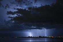 Lightning In Tampa Bay Florida