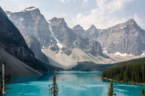 Keuken foto achterwand Canada Strange shadows and eddies in the blue water