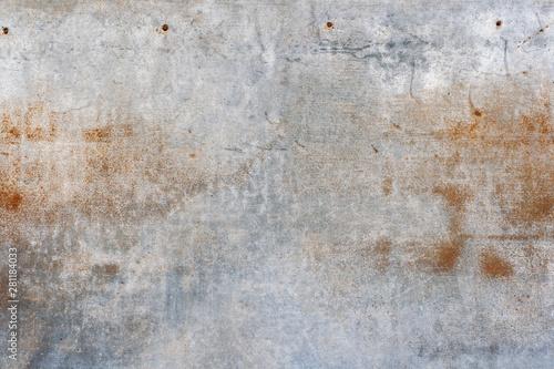 Obraz na plátně  汚れた鉄板