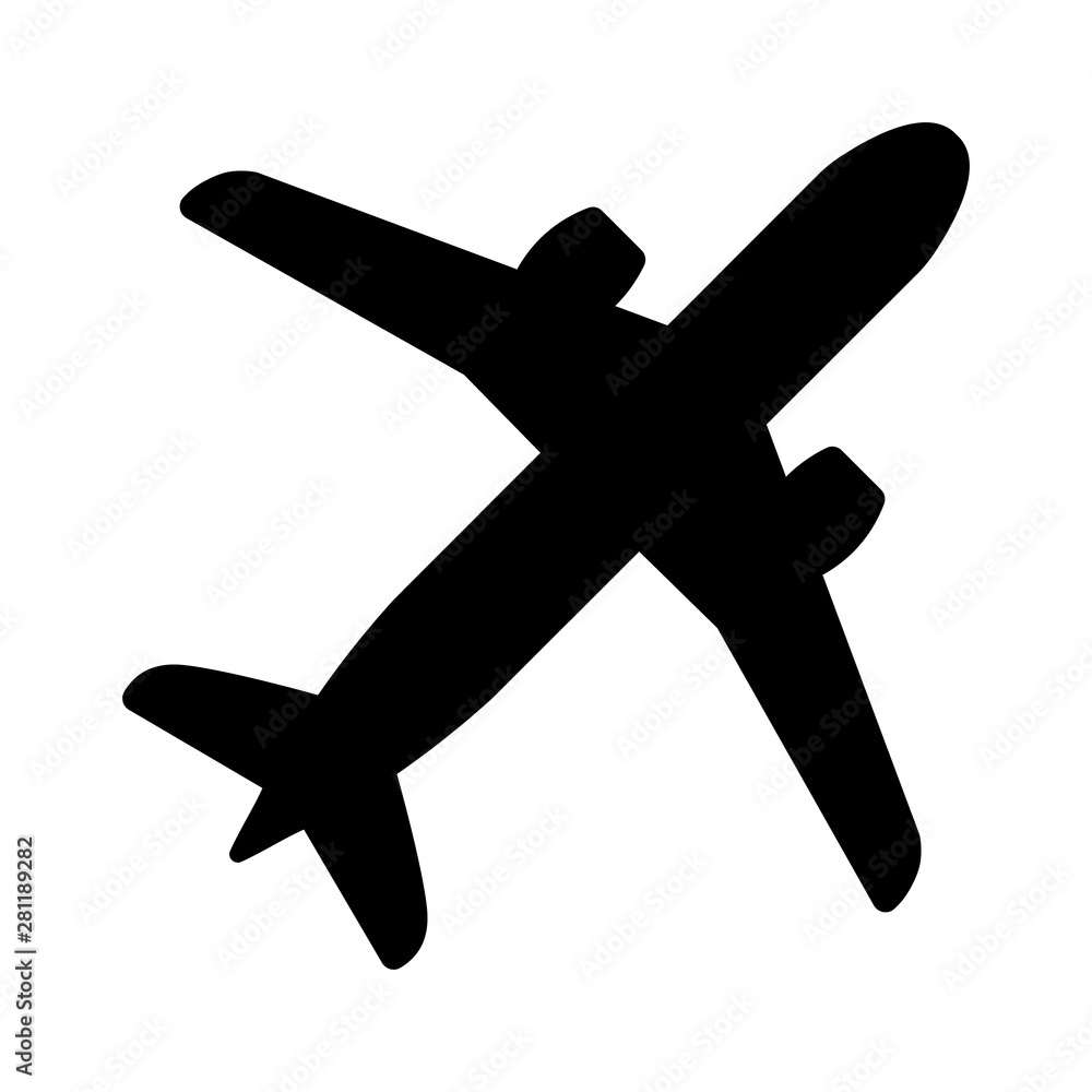 Fototapety, obrazy: Airplane icon