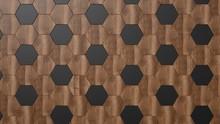 Dark Wood Background. Black An...