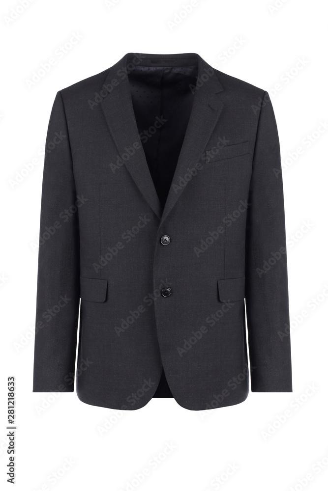 Fototapeta Men black jacket