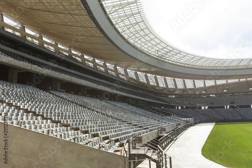 Foto op Plexiglas Stadion Rugby stadium in the morning
