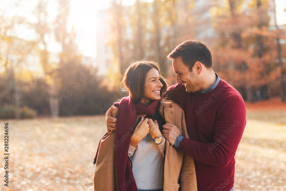 Fototapety, obrazy: Couple on a date