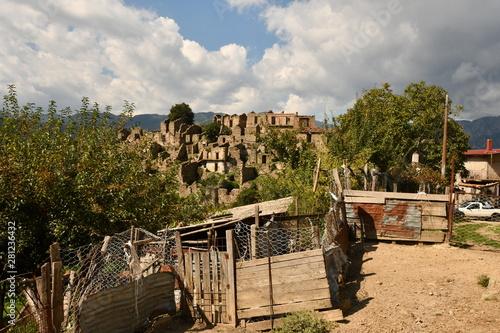 Photo casalnuovo frazione di africo vecchio, calabria, parco dell' aspromonte, calabri