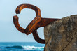The Comb of the Wind in Donostia-San Sebastian, Spain