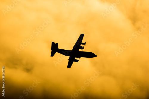 Fotomural C-130 of Royal Thai Air force