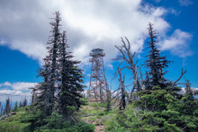 Black Butte Fire Lookout Tower