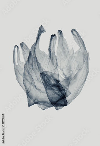 Plastic bag, plastic waste Tapéta, Fotótapéta