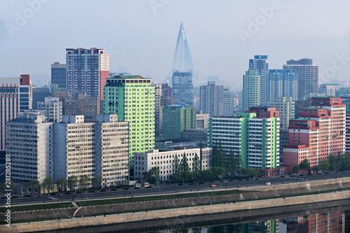 Pyongyang, capital of the North Korea. DPRK