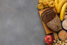 High Fibre And Carbohydrate Fo...