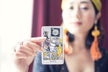 Tarot Card Of Death With Blur ...