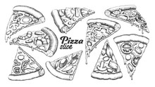 Assortment Different Slice Piz...
