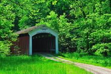 Leatherwood Covered Bridge
