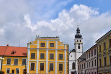 Old Architecture In Town Of Nove Hrady, Czech