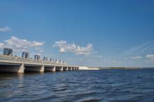 Gateway Dam In The Gulf Of Finland. Saint-Petersburg, Russia