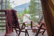 Luxury Campsite With Scenic Mountain View
