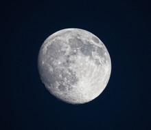 The Moon In Orbit.