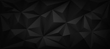 Dark Polygon 3d Background
