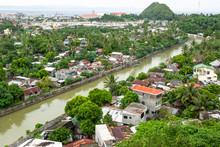 The View On Legazpi Town