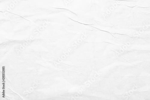 Obraz Texture of crumpled paper, closeup - fototapety do salonu