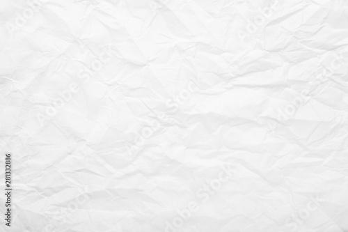 Fotografie, Tablou  Texture of crumpled paper, closeup