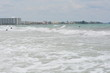 Sarasota Florida Waves and Sea gulls