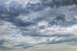Beautiful sunny view of deep blue sky and Altocumulus cloud.