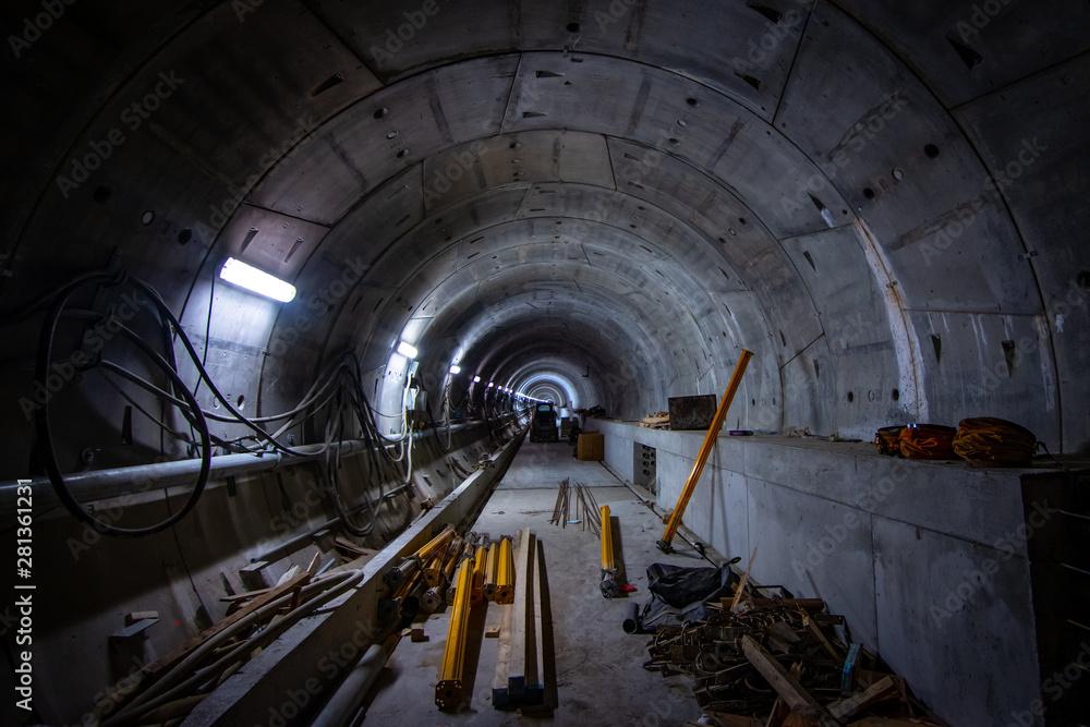 Fototapeta tunnel of light