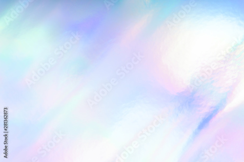 Foto  Colorful funky fantasy abstract holographic background.