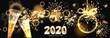 canvas print picture - Hintergrund mit Feuerwerk zum Jahreswechsel